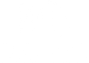 Manhattan Dermatology Logo White