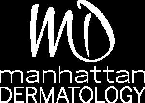 Manhattan Dermatology Logo White